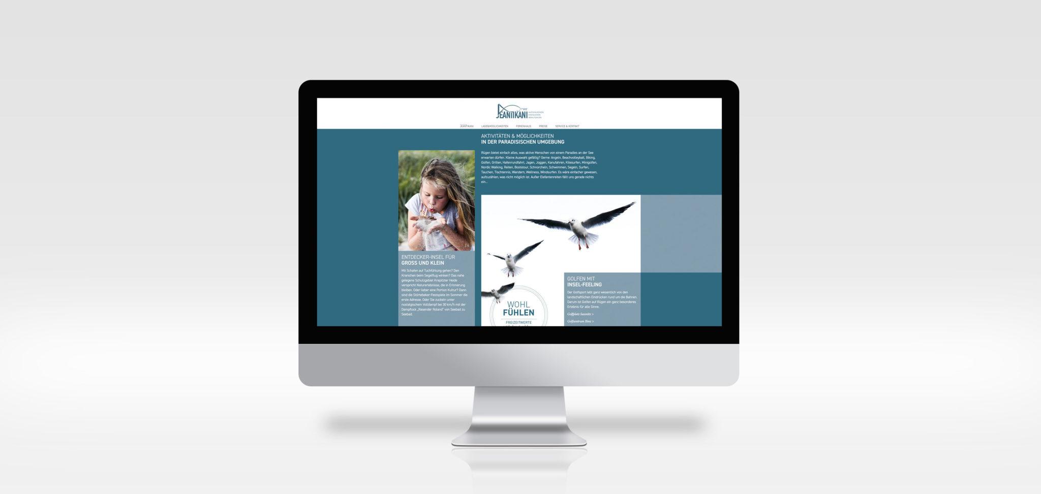 Jeantikani-webseite